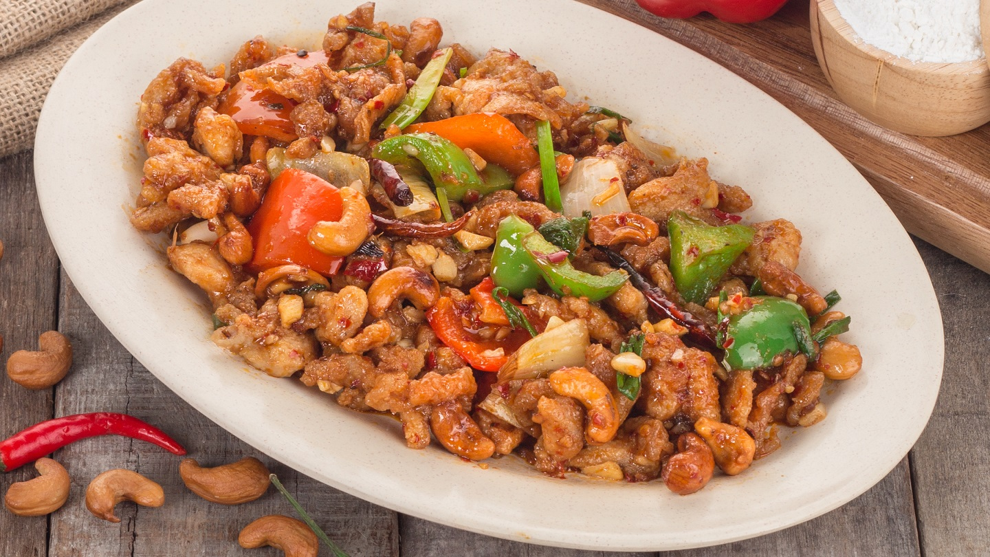 Stir Fried Chicken with Cashew Nuts - M image
