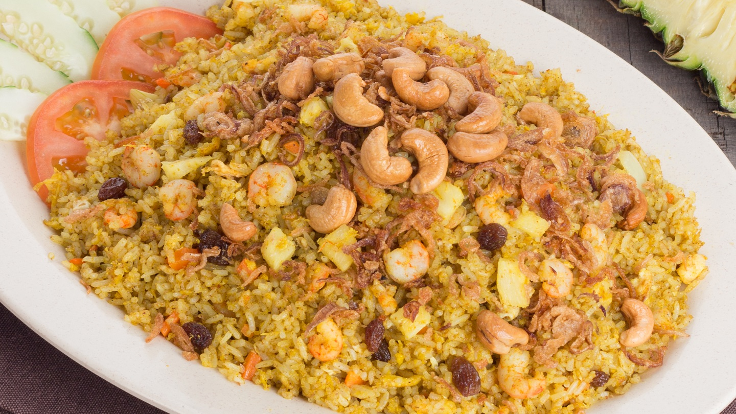 Pineapple Fried Rice with Prawns - M image