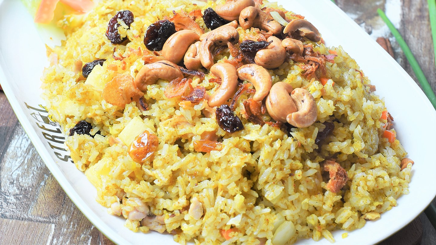 Pineapple Fried Rice with Chicken - L image